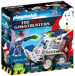 Picture of Ghostbusters Spengler with Cage Car Playmobil Set