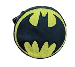 Picture of Batman Chenille Canteen Crossbody Purse