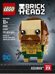 Picture of LEGO Brickheadz Aquaman Building Toy