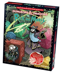 Picture of Dungeons and Dragons vs Rick and Morty RPG