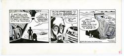 Picture of Star Wars Dailies Russ Manning Art 1979 October 18 Original Art