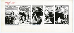 Picture of Star Wars Dailies Russ Manning Art 1979 October 1 Original Art