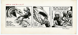 Picture of Star Wars Dailies Russ Manning and Rick Hoberg Art 1980 June 30 Original Art