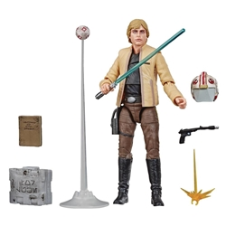"Picture of Star Wars Luke Skywalker Skywalker Strikes Black Series 6"" Action Figure"