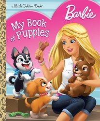 Picture of Barbie My Book of Puppies Little Golden Book