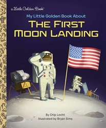 Picture of My Little Golden Book About the First Moon Landing Little Golden Book