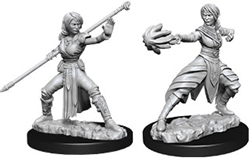 Picture of Dungeons and Dragons Nolzur's Marvelous Miniatures Female Half-Elf Monk