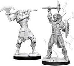 Picture of Dungeons and Dragons Nolzur's Marvelous Miniatures Female Goliath Barbarian