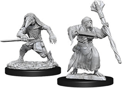 Picture of Dungeons and Dragons Nolzur's Marvelous Miniatures Kenku Adventurers