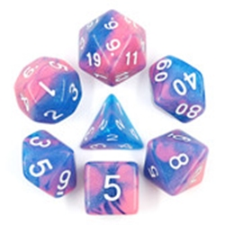 Picture of Miami Vice Blue and Pink Dice Set