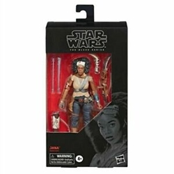 "Picture of Star Wars Jannah Black Series 6"" Figure"