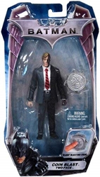 Picture of Batman Dark Knight Movie Coin Blast Two-Face Action Figure