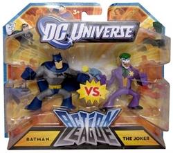 """Picture of DC Universe Action League Batman vs. The Joker 3"""" Mini-Figure Set"""