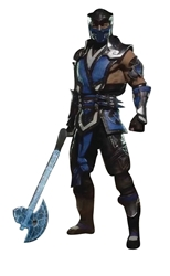 "Picture of Mortal Kombat Sub-Zero 7"" Figure"