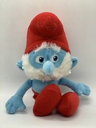 "Picture of The Smurfs Papa Smurf Plush Kelly Toy Stuffed 9"" Official Movie Merchandise"
