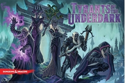Picture of Dungeons and Dragons Tyrants of the Underdark Board Game