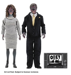 Picture of They Live 8-Inch Clothed Two Figure Set