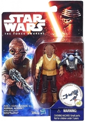 Picture of Star Wars Force Awakens Admiral Ackbar Action Figure