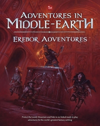 Picture of Dungeons and Dragons RPG Adventures in Middle-Earth Erebor Adventures HC