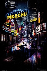Picture of Detective Pikachu Movie Poster