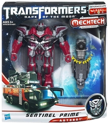 Picture of Transformers Dark of the Moon MechTech Weapons System Sentinel Prime Action Figure