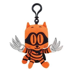 """Picture of Dog Man Cat Kid 5.5"""" Plush Backpack Pull"""
