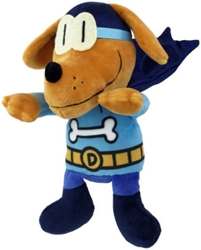"Picture of Dog Man Bark Knight 9.5"" Plush"