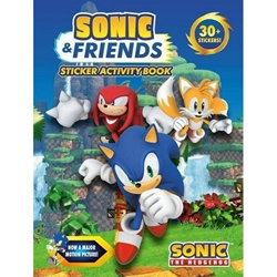 Picture of Sonic and Friends Sticker Activity Book