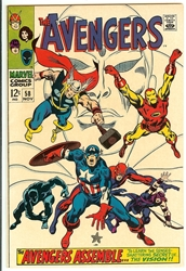 Picture of Avengers #58