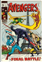 Picture of Avengers #71
