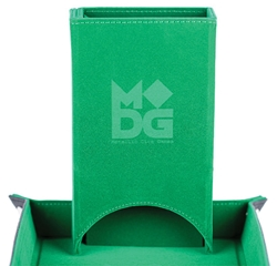 Picture of Fold Up Velvet Green Dice Tower