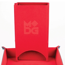 Picture of Fold Up Velvet Red Dice Tower