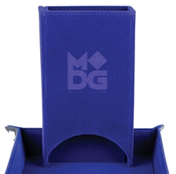 Picture of Fold Up Velvet Blue Dice Tower