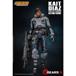 Picture of Gears of War Kait Diaz Storm Collectibles 1/12 Action Figure