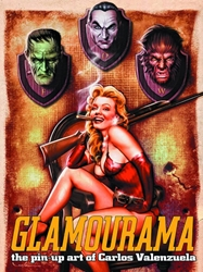 Picture of Glamourama Pin Up Art Carlos Valenzuela SC (Mr)