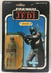 Picture of Star Wars Return of the Jedi Boba Fett Carded 1983