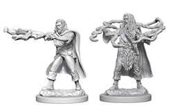 Picture of Dungeons and Dragons Nolzur's Marvelous Miniatures Male Human Sorcerer