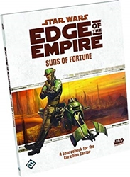 Picture of Fantasy Flight Games Star Wars Edge of the Empire Suns of Fortune RPG Book