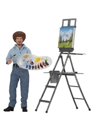 Picture of Bob Ross Joy of Painting Action Figure
