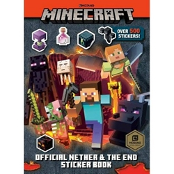 Picture of Minecraft Official Nether and the End Sticker Book
