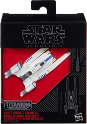Picture of Star Wars Imperial Cargo Shuttle Titanium Series Black Series Figure