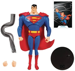 """Picture of Superman Animated DC Multiverse 7"""" Figure"""