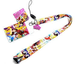 Picture of Disney Princess Lanyard with Soft Dangle