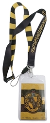 Picture of Harry Potter Hufflepuff Lanyard with card holder