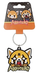 Picture of Sanrio Aggretsuko Soft Touch PVC Key Ring