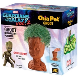 Picture of Chia Pet Groot from Guardians of the Galaxy Decorative Pottery Planter