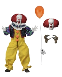 """Picture of IT 1990 Clothed 8"""" Pennywise Figure"""