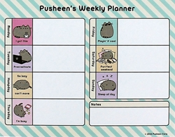 Picture of Pusheen Weekly Planner Desk Pad