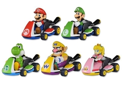 Picture of Super Mario Blind Bag Pull Back Kart Racers