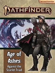 Picture of Pathfinder RPG Adventure Path Age of Ashes Part 5 Against the Scarlet Triad